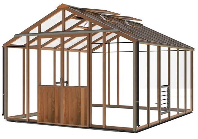 Alton Evolutions 10 Greenhouse