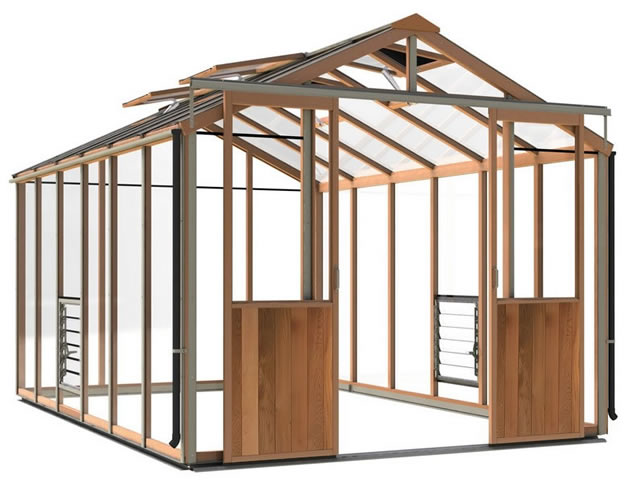 Alton Evolutions 8 Greenhouse
