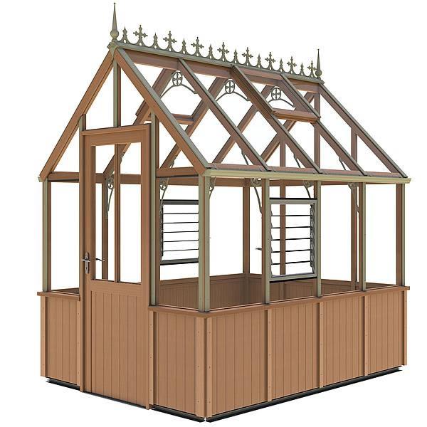 Alton Victorian Denstone HB Greenhouse