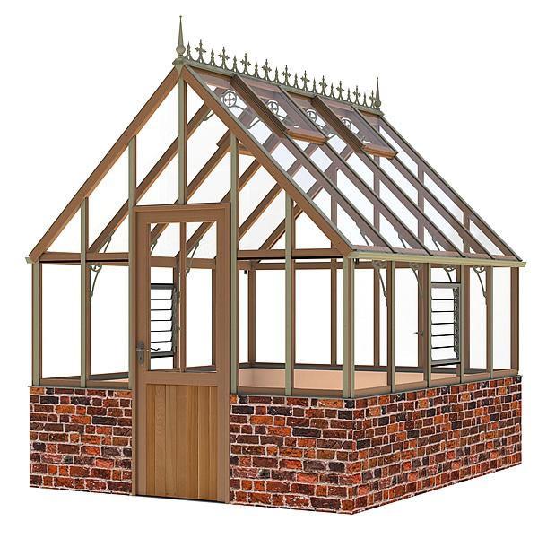 Alton Victorian Ellesmere DW Greenhouse