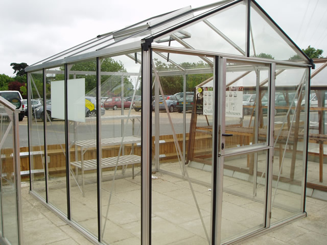 Aluminium & Cedar Greenhouse Maintenance