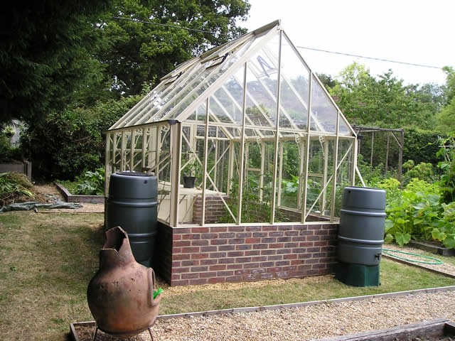 Robinsons Victorian Greenhouse Installation From Rear