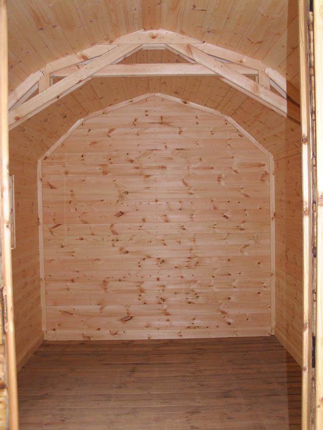 Lined Regency 12 x 8 Barn
