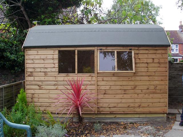 Lined Regency Barn 12 x 8 External