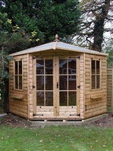 Regency Henley Summerhouse installation in Horsham