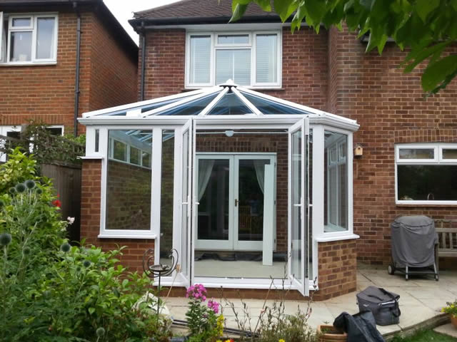 2 Bay Victorian Conservatory Completed