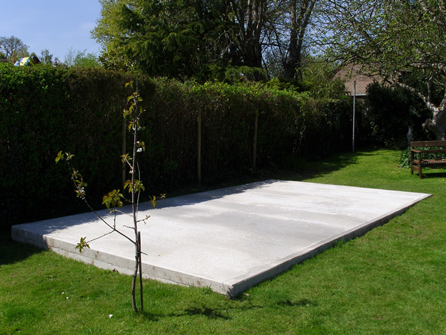18 x 10 Concrete Shed Base