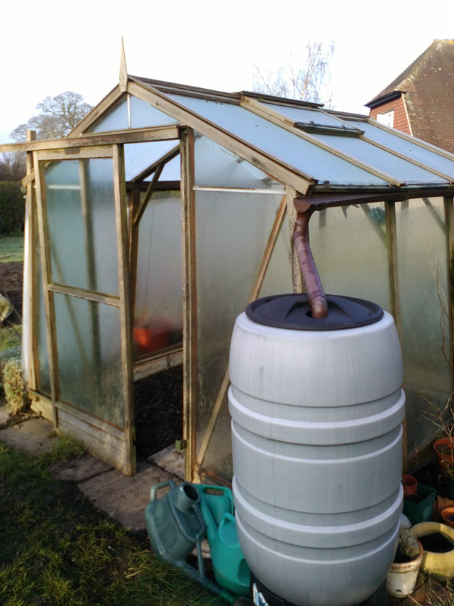 Greenhouse that we replaced