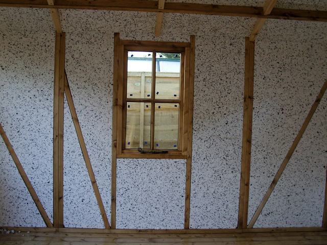 Insulation around side window