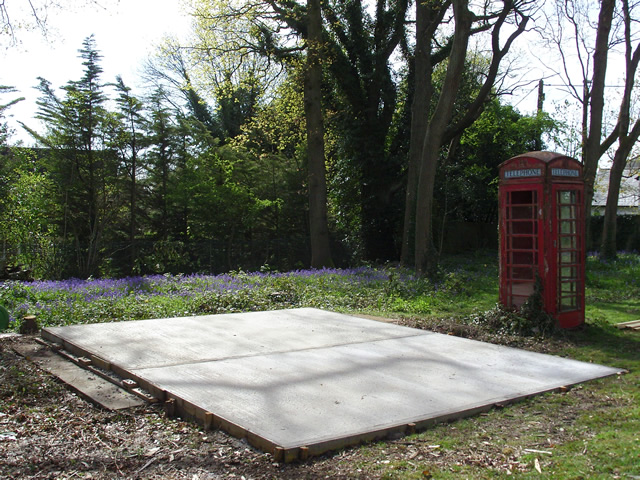 Regency Barn Concrete Base