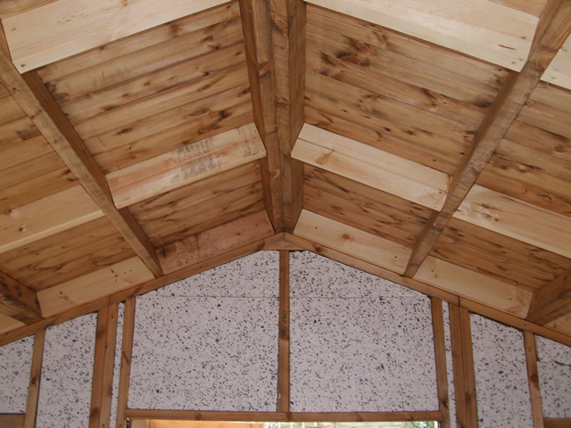 Roof before insulation