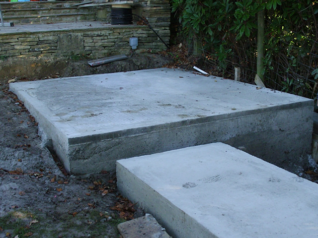 Reinforced Concrete Base by Cousins