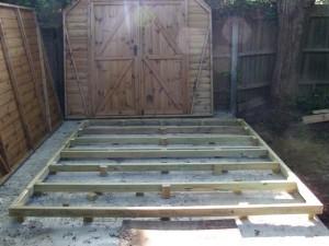 Timber Frame for Regency Barn