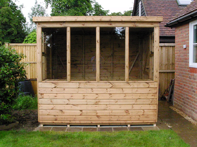 8x6 Deluxe Potting Shed