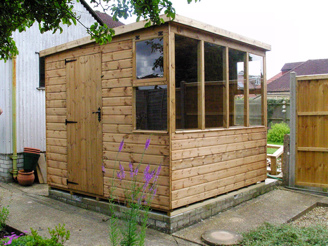 8 x 8 Shed Installation in West Sussex