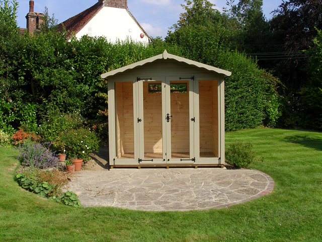 Helmsley 8 x 6 Summerhouse Installation