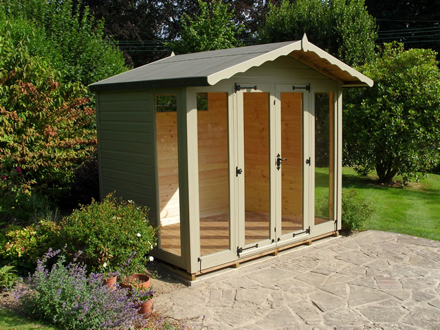 Helmsley Summerhouse Installation