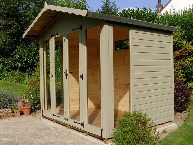 Helmsley Summerhouse Side View