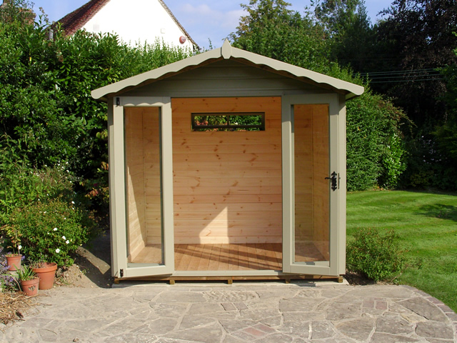 Summerhouse Installation West Sussex
