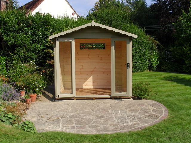 Summerhouse Installation in Bolney