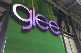large-glee-signage