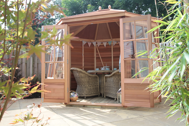 Alton Mickleton Cedar Summerhouse