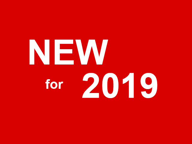 new for 2019 in red