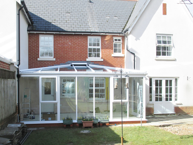 Hipped Sunlounge Conservatory installed in Henfield