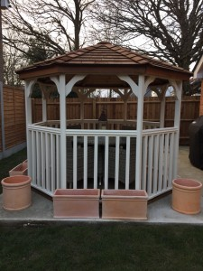 8x8 Gazebo Installation in Sussex