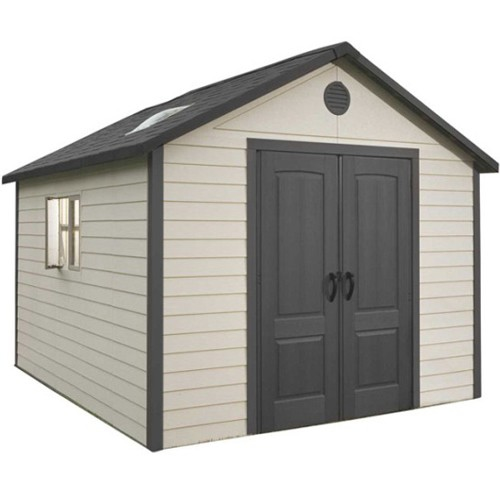 Lifetime 11ft x 11ft Heavy Duty Plastic Shed