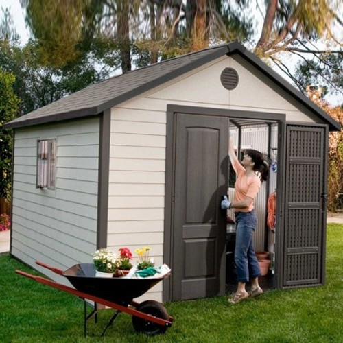Lifetime 11ft x 13-5ft Heavy Duty Plastic Shed