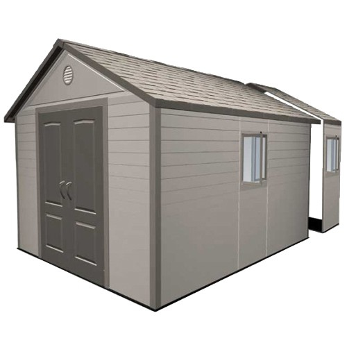 Lifetime 11ft x 16ft Heavy Duty Plastic Shed