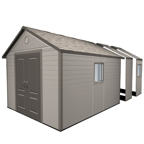 Lifetime 11ft x 18-5ft Heavy Duty Plastic Shed