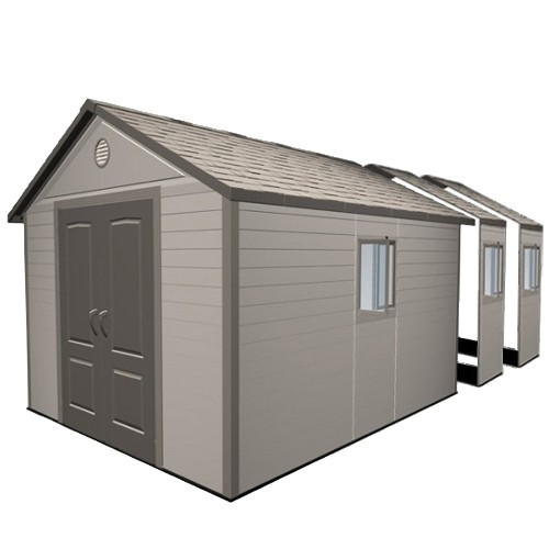 Lifetime 11ft x 21ft Heavy Duty Plastic Shed
