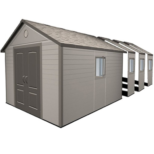 Lifetime 11ft x 26ft Heavy Duty Plastic Shed