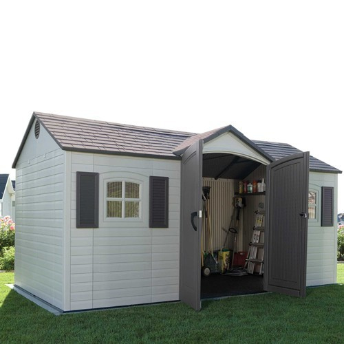 Lifetime 15ft x 8ft Single Entrance Plastic Shed
