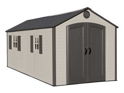 Lifetime 8ft x 12-5ft Special Edition Heavy Duty Plastic Shed