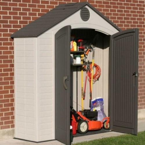 Lifetime 8ft x 2-5ft Plastic Shed