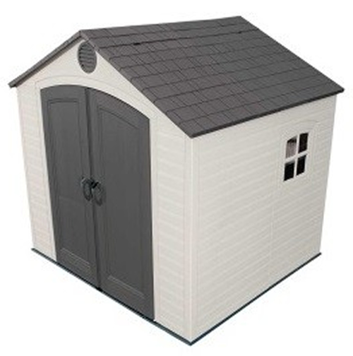 Lifetime 8ft x 7-5ft Special Edition Heavy Duty Plastic Shed