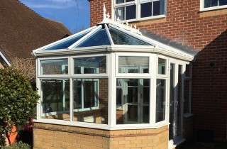MACLEAN Conservatory with Pilkington Activ Blue Glass Roof
