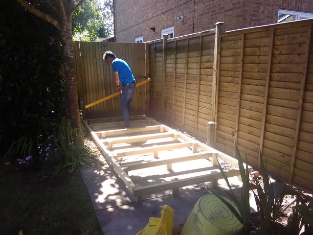 Fairbank Royston Apex 12x5 Building Timber Frame