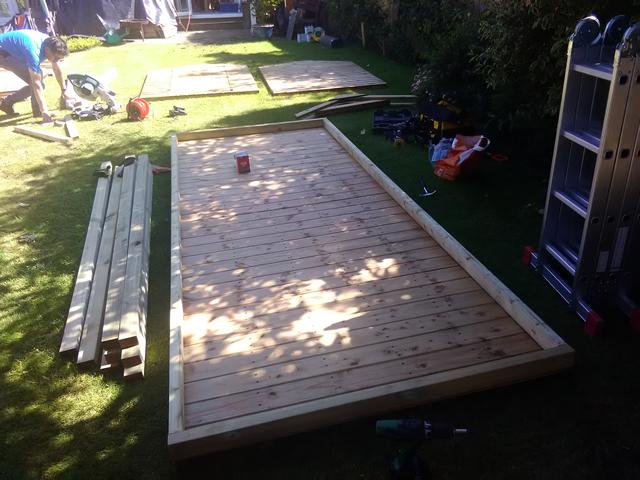 Fairbank Royston Apex 12x5 Timber Floor