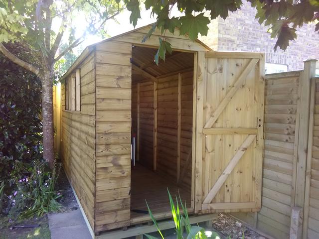 Fairbank Royston Apex 12x5 with Door Open