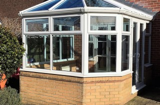 Mclean Replacement Pilkington Activ Blue Glass Roof