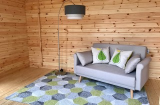 Woodlands Log Cabin Internal Picture