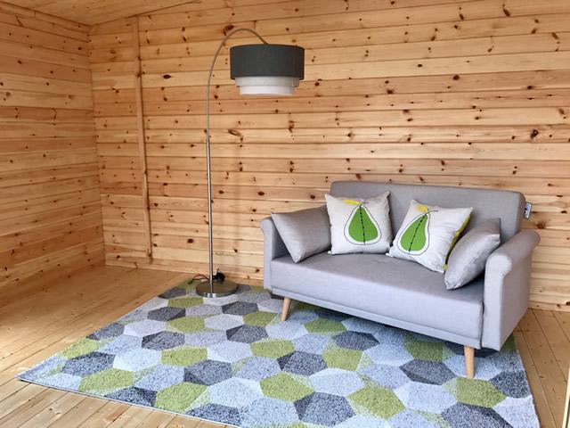 Woodlands Log Cabin Internal Picture