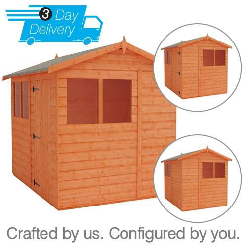 Flexi Apex Sheds 3 Day Delivery