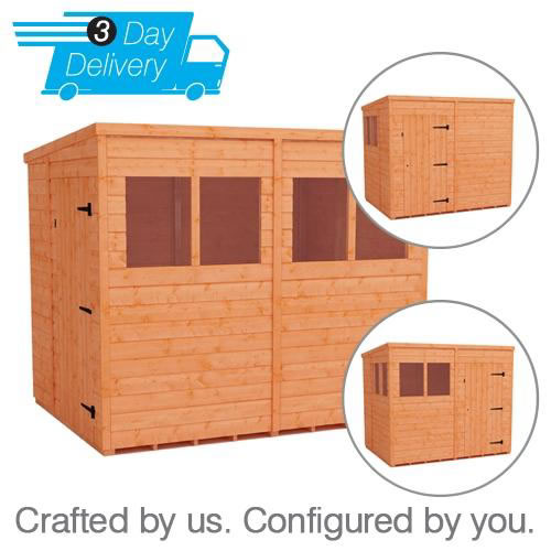 Flexi Pent Sheds 3 Day Delivery