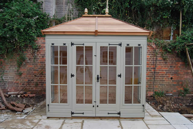 Painted Dovedale Summerhouse