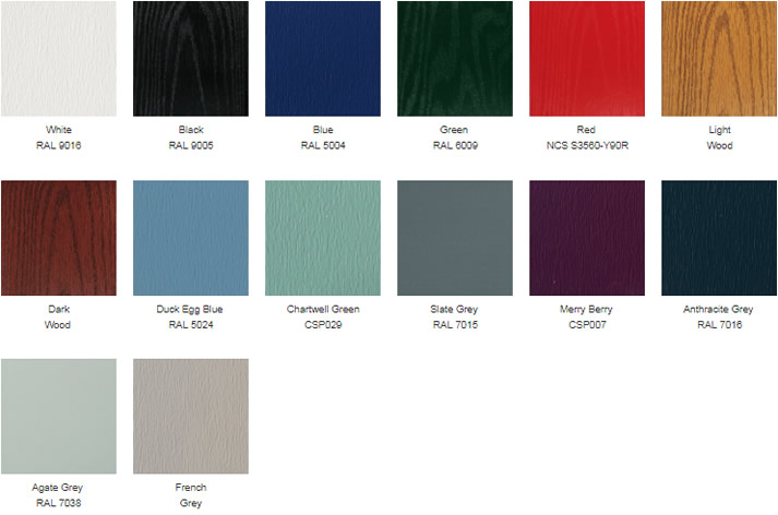 The Sovereign Collection Colours